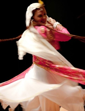 Hannah performing Persian dance